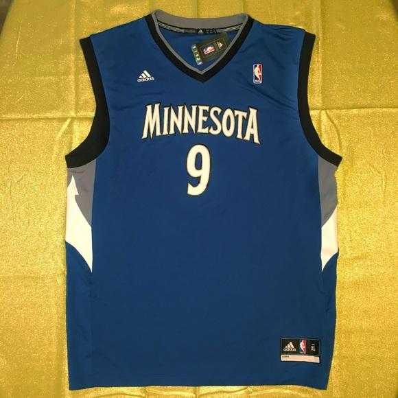 adidas NBA Minnesota Timberwolves Rubio Jersey 8e09161ec